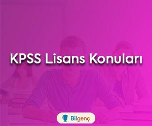 KPSS Lisans Konuları ve Soru Dağılımı