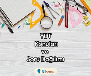 YDT (Yabancı Dil) Konuları ve Soru Dağılımı