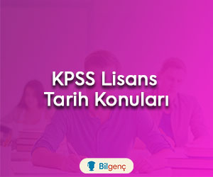 KPSS Lisans Tarih Konuları