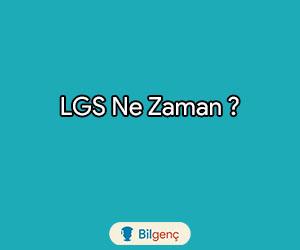 LGS Ne Zaman