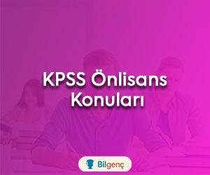 KPSS Önlisans Konuları ve Soru Dağılımı