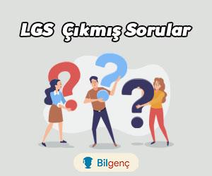 LGS Çıkmış Sorular ve Cevapları