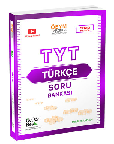 Üç Dört Beş Yayınları TYT Türkçe Soru Bankası Önerisi