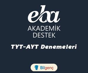 EBA Akademik Destek TYT-AYT Denemeleri